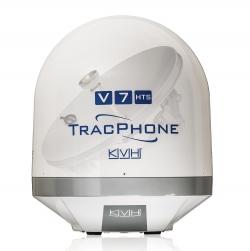 KVH TracPhone V7-HTS mini-VSAT SatCom-järjestelmä