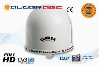 Glomex V9126AGC Altair TV/FM-antenni