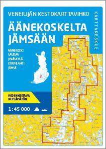 Veneilijän Kestokartta Äänekoski-Jämsä 1:45 000