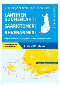 Veneilijän Kestokartta Läntinen Suomenlahti-Saaristomeri-Ahvenanmeri, 1:55 000