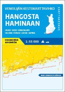 Veneilijän Kestokartta Hanko-Hamina, 1:55 000