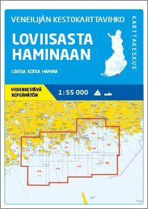 Veneilijän Kestokartta Loviisa-Hamina, 1:55 000