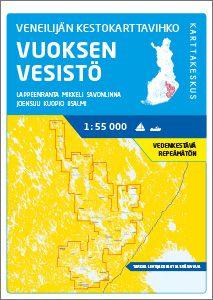 Veneilijän Kestokartta Vuoksen Vesistö 1:55 000