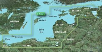 Garmin BlueChart g3 Vision HD, VEU065R Baltic Sea, East Coast
