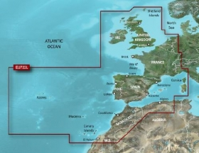 Garmin BlueChart g2 Vision HD, VEU722L Europe Atlantic Coast