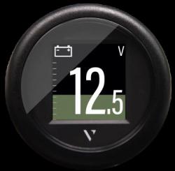 """Veratron VL Flex 52 monitoimimittari 1.4"""" värinäytöllä NMEA 2000 verkkoon tai suoraan analogiantureihin"""