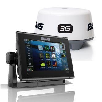 B&G Vulcan 7R karttaplotteri ja 3G tutka