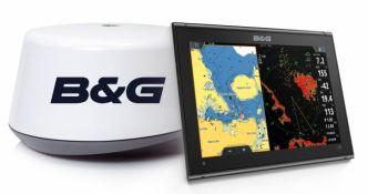 B&G Vulcan 12R karttaplotteri ja 3G tutka