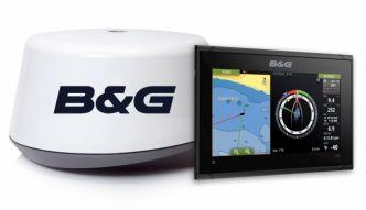 B&G Vulcan 9 FS karttaplotteri ja 3G tutka