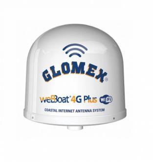 Glomex WeBBoat Plus 4G Dual SIM ja WiFi internet-antennijärjestelmä