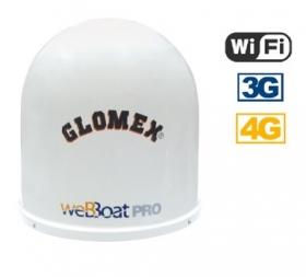 Glomex WeBBoat Plus 4G PRO WiFi internet-antennijärjestelmä