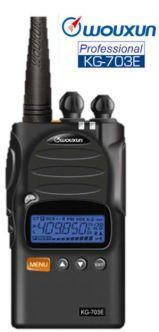 Wouxun KG-703 VHF metsästys- ja vapaa-ajanradio