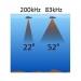 Lowrance/Simrad HST-WSBL 83/200 kHz peräpeilianturi, kaiku/lämpö