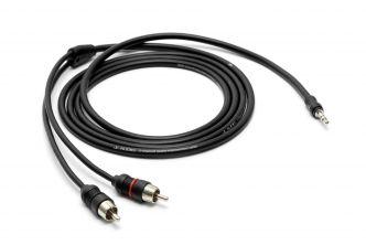 JL Audio 2-kanavainen 3.5 mm/RCA äänikaapeli 1.83 m