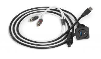 JL Audio 3.5 mm/USB liitinpaneeli