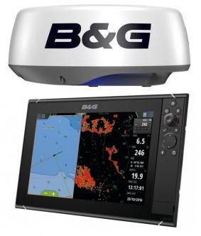 B&G Zeus3 12 monitoiminäyttö + Halo20+ tutka